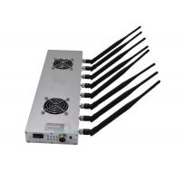 Buy cheap 30m Long Range High Power Signal Jammer 8 Bands 16w With 24 Hours Work Time from wholesalers