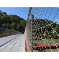 Buy cheap 1.5mm thickness SS 316 wire rope fence stainless steel rope mesh for zoo from wholesalers