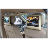 Buy cheap Back Hanging Car Headrest Monitor Beige Color 1080P Multiple Format Video Decoding from wholesalers