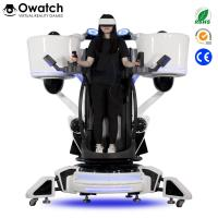 Buy cheap Latest Publish Game Equipment Exciting Shooting 9D Vr Standing Platform Fly Motion Simulator from wholesalers