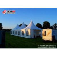 Buy cheap Clear Door Beer Festival Tent Temporary Tent Dia 6M With Sandwich Panel Wall product