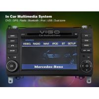 Buy cheap OBD Retained, RCA Rear View Mercedes Benz Sat Nav DVD Vito GPS Navigation VBZ7073 from wholesalers