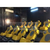 Buy cheap Interaction Reality 7D Movie Theater With Yellow Motion Seats product
