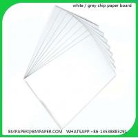Buy cheap Grey board for lever arch files / Grey cardboard used for files from wholesalers