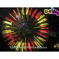 Buy cheap Customized Playground Bubble Zorb Ball Inflatable Rolling Ball Shinning With Light from wholesalers