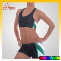 Buy cheap Colorful Youth Cheerleading Sportswear , Personalized Eco-Friendly Cheerleader Uniforms from wholesalers