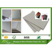 Buy cheap High Smoothness Recycle Laminated Grey Board Uncoated For Hardcover Book Cover from wholesalers