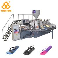Quality Women Men Flip Flop Slipper Making Machine With Full Production Line Process for sale