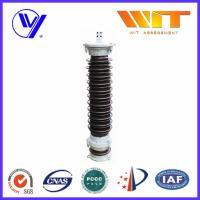 Buy cheap 111KV Substation Lightning Arrester Single Phase with Copper Cap from wholesalers