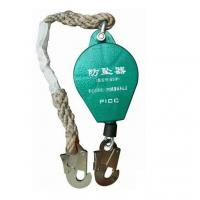 Buy cheap Line Construction Fall Arrest Lanyard High Capacity Wire Rope Falling Protector from wholesalers