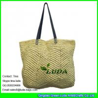 Buy cheap LUDA z2015 fashion paper straw crochet bag custom garment paper bag from wholesalers