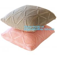 Buy cheap Wholesale Ins Hot Modern 100% Polyester Upholstery Fabric European Luxury Crushed Velvet Cushion Cover bagplastics bagea from wholesalers