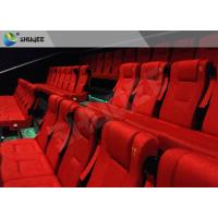 Buy cheap Film Projector 3D Cinema System With Plastic Cloth Cover Chair 100 People from wholesalers