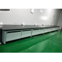 Buy cheap Return Frame Modular Lab Furniture 15mm Thickness MDF Board Main Materials from wholesalers