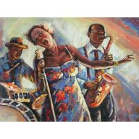 Buy cheap Jazz oil painting from wholesalers