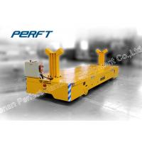 Buy cheap Steel Industrial Material Equipment Trackless Train Shipment Cargo Transport Electric Transfer Car from wholesalers