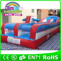 Buy cheap 2015 inflatable sport games inflatable bungee run for sport games bungee run for sale from wholesalers