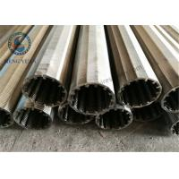 Buy cheap Stainless Steel Wedge Wire V Wire Johnson Screen 40mm O.D Screen Pipe product