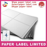 Buy cheap Label Dimensions: 105mm x 148mm Software Compatible Codes: 3483, DPS04 A4 labels from wholesalers