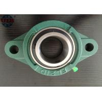 Buy cheap Pillow block bearing UCFL210 agriculture machine,chrome steel Gcr15 bearing, HT250 housing from wholesalers