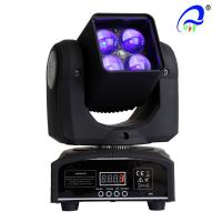 Buy cheap 4 Pcs 15W 4 In 1 Osram LED Moving Head Zoom LED Disco Light DMX512 AC100 - 240V from wholesalers