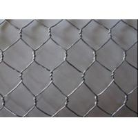 Buy cheap Green 20 Ga Metal Wire Mesh Decorative Hexagonal Wire Netting PVC Coated from wholesalers