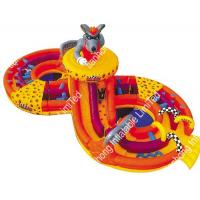 Buy cheap Huge Commerical Adult Inflatable Bouncer Obstacle Course For Backyard from wholesalers