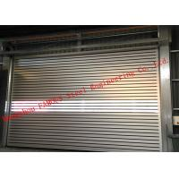 Buy cheap Indoors PVC Fast Rapid Rise Door and Outdoors Hard Metal High Speed Rolling Shutter Door from wholesalers