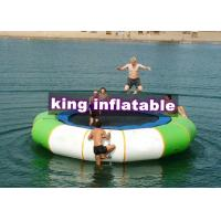 Buy cheap 3m D Aquatic Inflatable Trampoline PVC Water Toy Without Steel Spring For Water Park from wholesalers