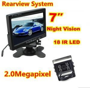 Buy cheap 2.0 Megapixel Car Reversing Camera System , Metal Case Box Truck Reversing Camera product
