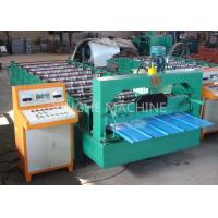 Buy cheap Color Coated Highly Effective Cold Roll Forming Machines , Metal Roofing Roll Former from wholesalers