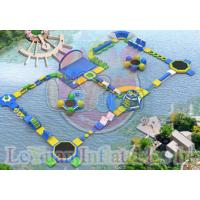 Buy cheap Challage Customzied Inflatable Water Toys / Large Floating Water Park from wholesalers