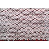 Buy cheap Apparel Accessories Chemical Lace Fabric  Water Soluble Embroidery  lace fabric from wholesalers