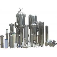 Buy cheap Multi Colors SS304 Cartridge Filter Housing , Industrial Filter Housing from wholesalers