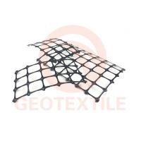 Buy cheap Durable Geogrid For Road Construction , Vertical Walls Biaxial Integral Geogrid product