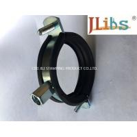 Buy cheap Cast Iron Pipe Round Pipe Clamps Gi Pipe Clamp With M8 M10 Combi Nut And Rubber And Bolt from wholesalers