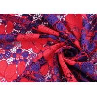 Buy cheap Eco Friendly Cotton Mesh Lace Fabric Knitted Technics For Wedding Dress from wholesalers