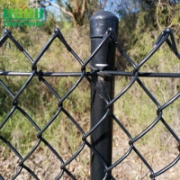 Buy cheap Q195 Pvc Coated 50*50mm Plastic Chain Link Fence For Sports Ground from wholesalers
