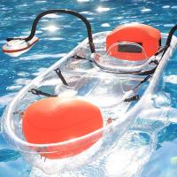 Buy cheap Tourism / Vacation See Through Kayak Bottom Paddle Board With Outriggers from wholesalers