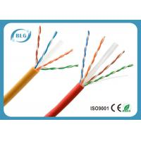 Buy cheap U / UTP Waterproof Category 6 Ethernet Cable , Super Long Cat 6 Network Cable from wholesalers