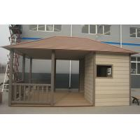 Buy cheap Impact Resistance Coffee WPC Wall Cladding For Garage / Garden Anti Oxidation Material from wholesalers
