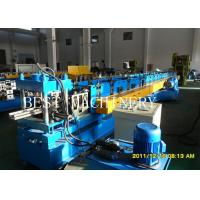 Buy cheap Professional Rack Roll Forming Making Machine for Supermarket Storage Upright Shelves Chain Drive system from wholesalers