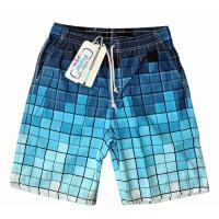 Buy cheap Men's Beach Shorts Summer Blazers Surf Miles Swim Trunk Plaid Design Quite Dry Bermuda Style Sexy Club Dresses Dress from wholesalers
