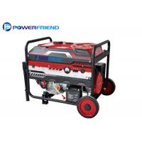 Buy cheap Small Portable Gasoline Generators With Wheels Electric Start for prime 8.5kva open typpe generator from Wholesalers