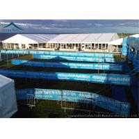 Buy cheap Customized  Size Large Aluminum Fireproof Event Tents With Wooden Floor from wholesalers