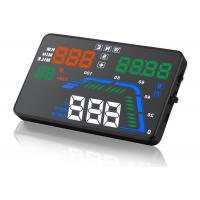 Buy cheap Driving Direction GPS Q7 Heads Up Car Display 5.5 Inch Q7 Speed Local Time Compass HUD from wholesalers