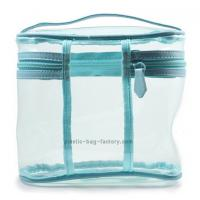 Buy cheap Multi-functional Transparent PVC Cosmetic Bag Makeup Storage Bag Clear Vinyl Toiletry Bag from wholesalers