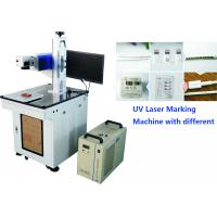 Buy cheap Uv Laser Marker 7W For Mobile Phone Parts , Mobile and computer accessories Engraving Machine No Heat Effect from wholesalers