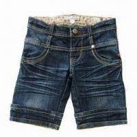 Buy cheap Girl's denim shorts, available from 2-8A sizes from wholesalers
