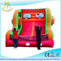 Buy cheap Hansel Inflatable Sports Game- Basketball Double Shot, Sports Inflatables type from wholesalers